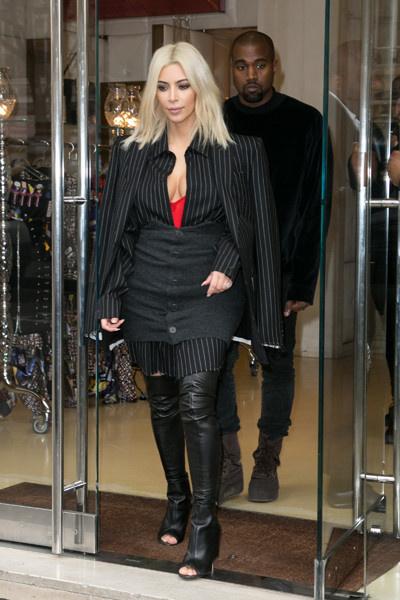 звездные модные провалы Ким Кардашьян