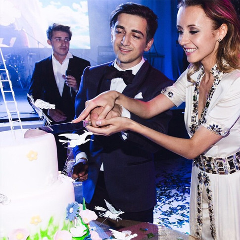 свадьба Мурада Османа и Натальи Захаровой