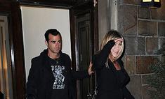 Энистон и Теру: неразлучная пара. Фото