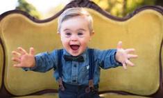 Малыш с синдромом Дауна стал лицом рекламной кампании