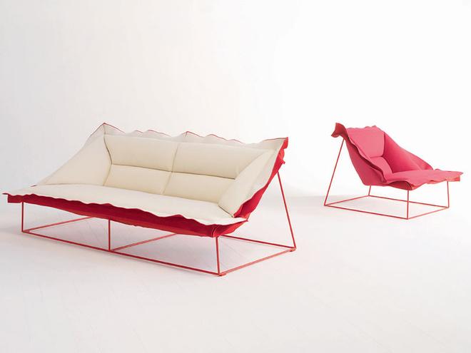 Диван Volant, дизайн Патрисии Уркиолы для Moroso, салон «Флэт-интерьеры»