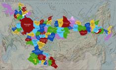 Как выглядела бы карта России, если бы размеры регионов соответствовали числу жителей
