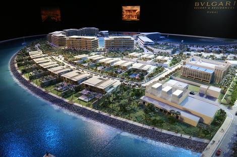 Bvlgari представила проект резиденций в Дубае   галерея [1] фото [1]