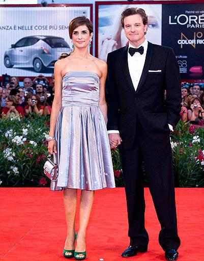 Колин Ферт (Colin Firth) и Ливия (Livia Giuggioli)
