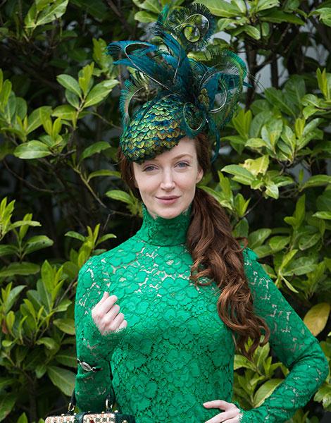 Королевские скачки в Аскоте: парад шляп   галерея [1] фото [12]