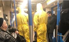 «Были в защитных масках и кашляли». Пранкеры устроили в московском метро розыгрыш по мотивам коронавируса