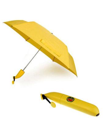 Модная штучка – зонт с чехлом в виде банана