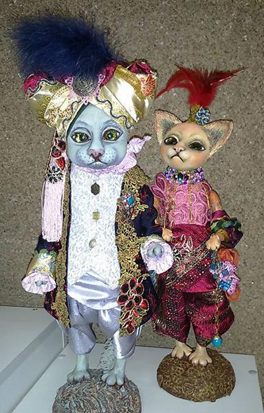 Елена Еловских, Выставка «Тайна кукольного шкафа», фото