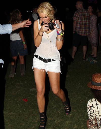 Любимица желтых таблоидов киноактриса Линдси Лохан (Lindsay Lohan).
