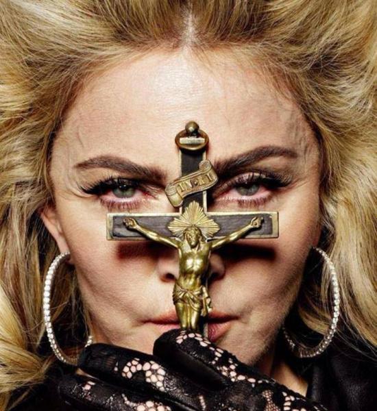 Мадонна без макияжа и фотошопа