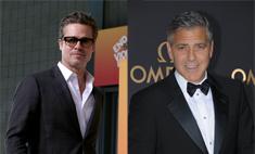 Брэд Питт станет шафером на свадьбе Джорджа Клуни
