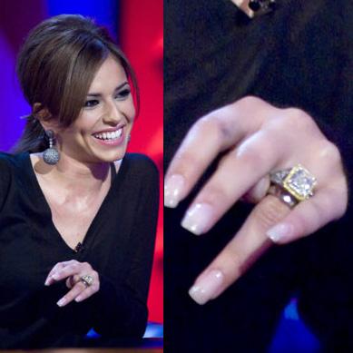 Обручальное кольцо Шерил Коул стоит 80 тысяч долларов