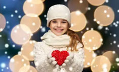 100 модных зимних и нарядных вещей для детей