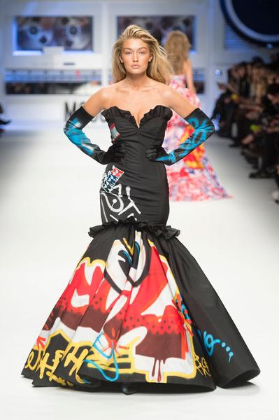 Показ Moschino на Неделе моды в Милане | галерея [5] фото [1]