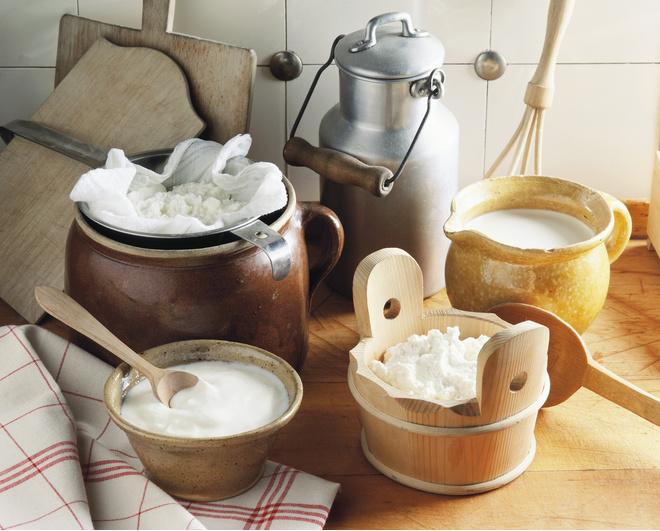 как обезжирить молоко
