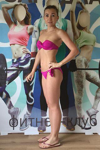 Елена Батырева, похудение, фото