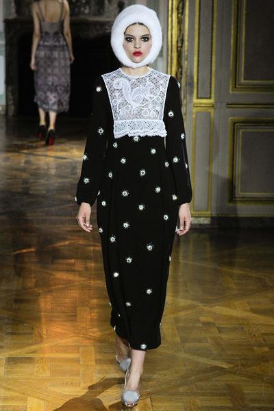 Показ Ulyana Sergeenko на Неделе высокой моды | галерея [1] фото [16]