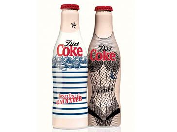 Бутылки Diet Coke lbpfqyf Жан Поль Готье (Jean Paul Gaultier)