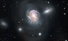 В космосе обнаружен вопросительный знак