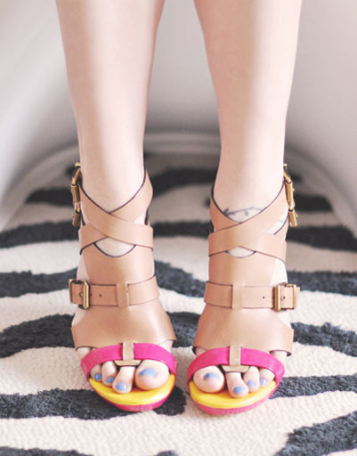 WDay.ru - о том, как носить самую модную обувь сезона весна-лето 2013