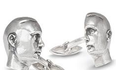 Владимира Путина отлили в серебре