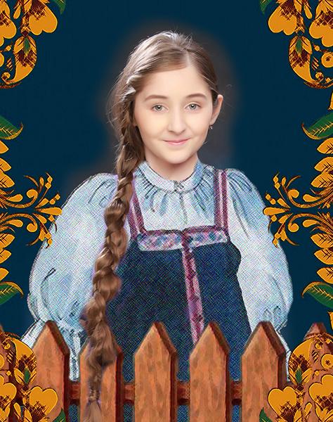 Виолена Гумерова, «Уральская краса – русская коса», фото