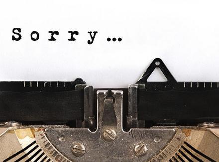 Просить прощения правильно