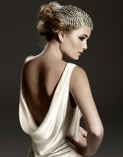 Свадебное платье и украшения Johanna Johnson, коллекция весна-лето 2012