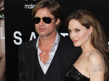 Анджелина Джоли, Angelina Jolie, Брэд Питт, Brad Pitt
