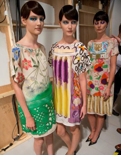 Неделя моды в Лондоне: Antoni & Alison, весна-лето 2013