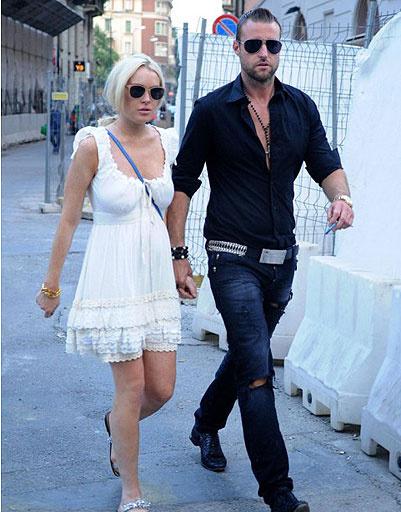 Лидсей Лохан (Lindsay Lohan) и Филипп Плейн (Philipp Plein)