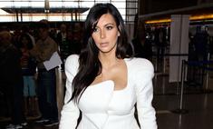 Беременная Ким Кардашьян беспокоится за здоровье своего ребенка