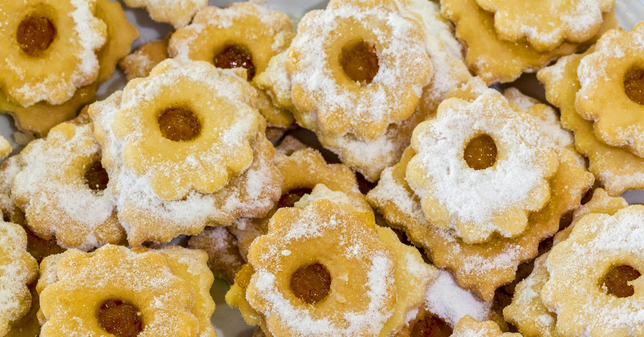 Песочное печенье с апельсином рецепт пошагово