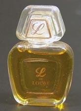 Так выглядел первый аромат L de Loewe.