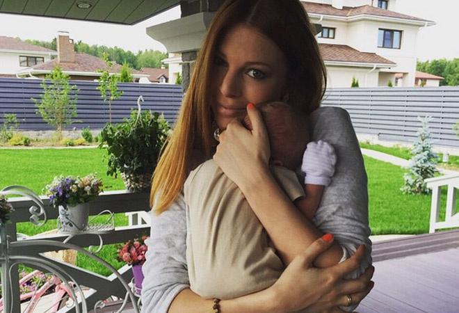 Наталья Подольская с ребенком фото