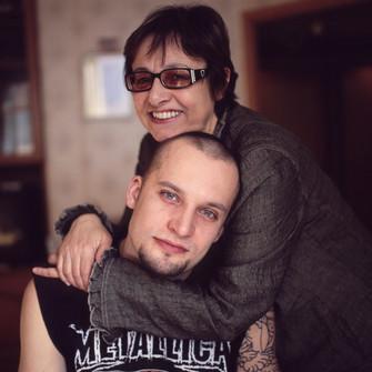 Любовные отношения между секс мама и сынок