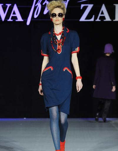 Mercedes-Benz Fashion Week Russia: Slava Zaitsev, осень-зима 2012/13