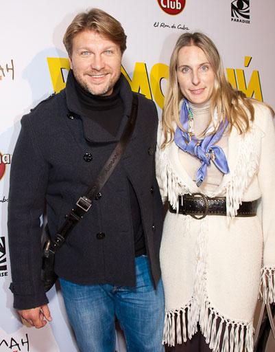 Егор Пазенко с женой
