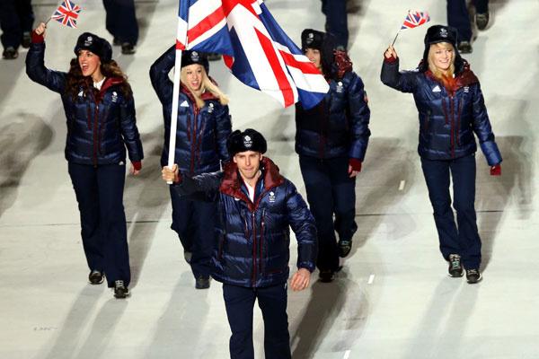 Сборная Великобритании в форме adidas