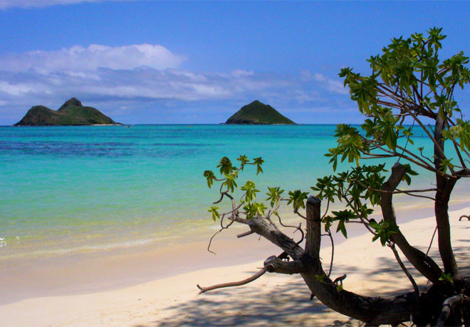 Lanikai Beach, Каилуа-Кона, Гавайи