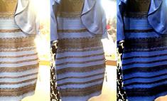 Какого цвета платье? Об этом спорят до драк