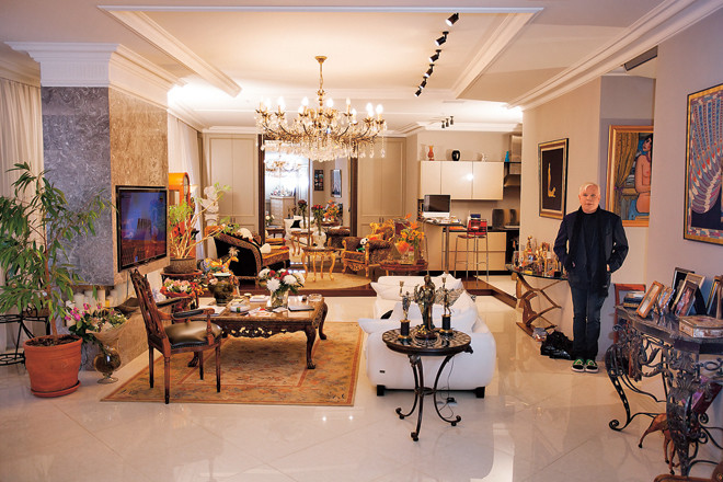 Дом Бориса Моисеева: фото