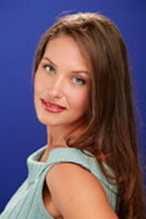 Юлия Долгушина на конкурсе «Миссис Екатеринбург - 2006», фото