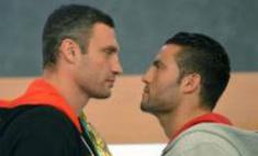 Звезды болели за Виталия Кличко в бою с Мануэлем Чарром