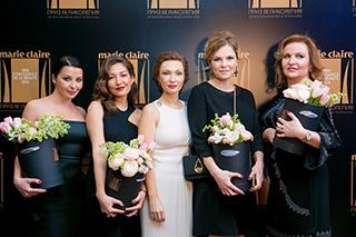 Юлия Кудрявцева, Екатерина Сахарова, Анастасия Харитонова, Анастасия Ежова, Мария Тараненко (жюри Премии)