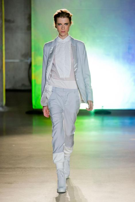 Главные тренды с показа MM6 Maison Martin Margiela на Неделе моды в Нью-Йорке