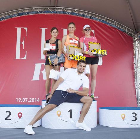 Победители ELLE Run