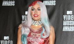 Мясное платье Леди ГаГа признано главным событием в мире моды