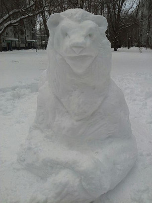 необычные снеговики