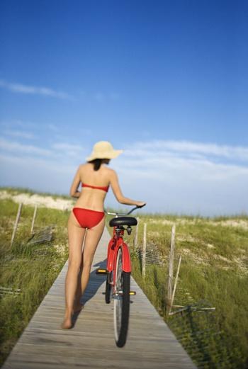 Подтянуть ягодицы и сделать ноги сильнее? Садитесь на велосипед!